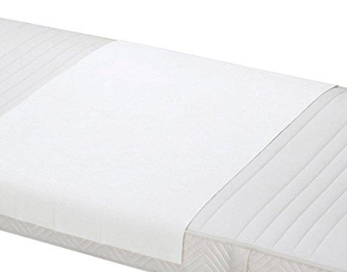 ZOLLNER Empapador Reutilizable, Protector de colchón, 150x90 cm, Otras Medidas
