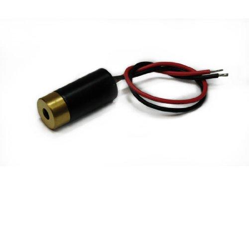 Laserfuchs Linienlaser Strichlaser rot 650nm 5mW 90° 3-12VDC 10x22mm - 70105773