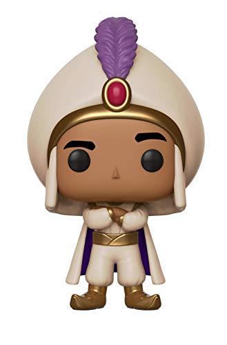 Funko- Pop Vinyl: Disney: Aladdin: Prince Ali Figura de Vinilo Principe, (35758)