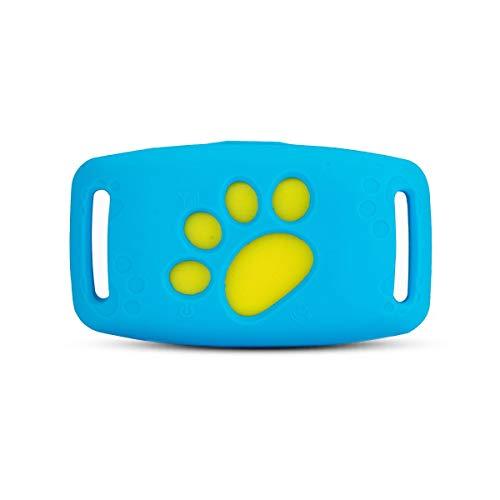 PETCUTE Rastreador para Perros y Gatos, Dispositivo de Seguimiento GPS para Mascotas, localizador GPS para Perros GPS Collar para Gatos