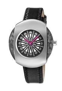 Custo Watches CU023602 - Reloj de Señora cuarzo piel Negro de Custo Watches