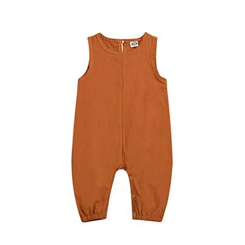 Generic JERFER Jumpsuit Sommer Neugeborenen Jungen Strampler Overall Overall Outfits