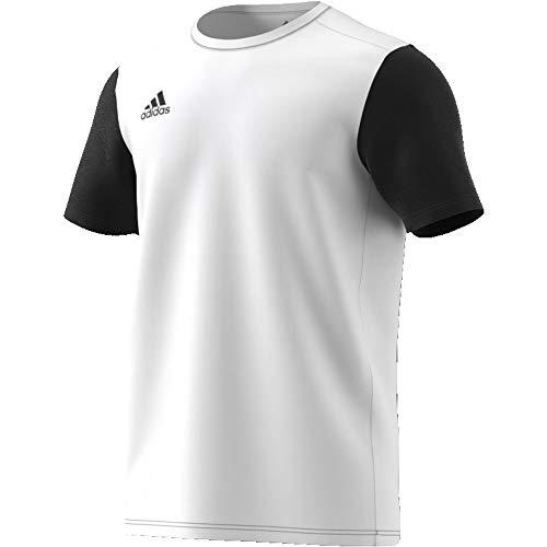Adidas estro 19, maglietta uomo, white, l