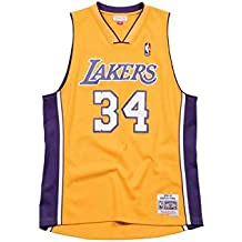promo code 733c1 489bf Mitchell   Ness Los Angeles Lakers - Shaquille O Neal Swingman Trikot Gelb
