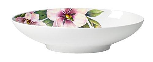 Villeroy & Boch quinsai Jardin Ovale Bol, Porcelaine, Multicolore, 38 x 22 cm