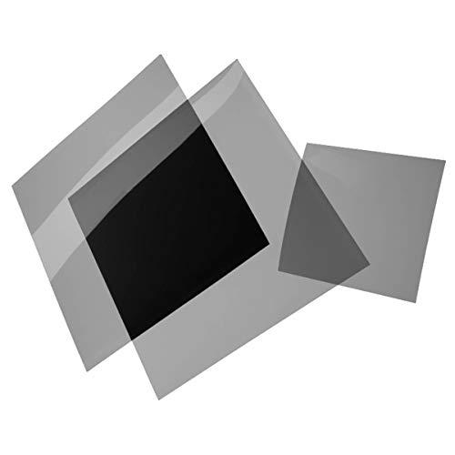 B+W Polfolie linear 100 x 100 x 0,8 mm für Beleuchtungszwecke und kreative Aufnahmen