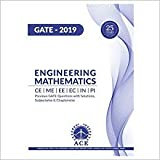 GATE ESE 2019 Engineering Mathematics, ECE,EEE,INST,MECH,CE,PI, 25 Years of Previous GATE Questions with Solutions, Subject Wise & Chapter Wise