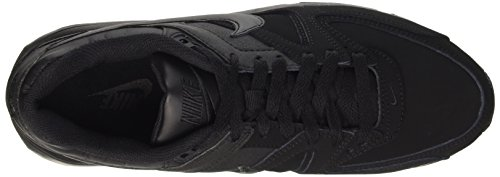 Nike Air Max Command Leather, Baskets Basses Homme Noir (003 BLACK/BLACK-ANTHRACITE)