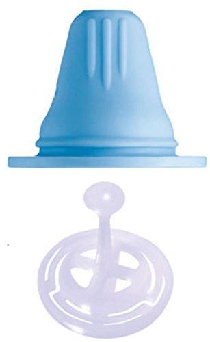 MAM Trinkschnabel & Ventil Babysauger, blau/weiß