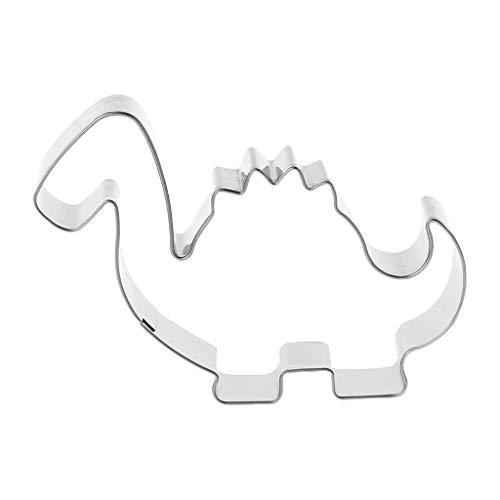 formen für Gebäck aus Edelstahl Edelstahl Pastry Cookie Cutter Biscuit Mold Dinosaur Shaped Mould Decor Baking Tool DIY ()