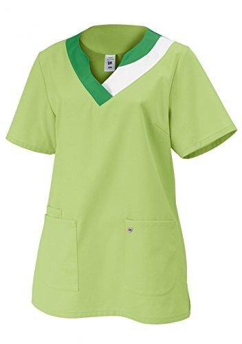 Damen-Schlupfkasack BP 1664 hellgrün Größe: 46 Farbe: hellgrün (Ausgestattet Damen-kittel)