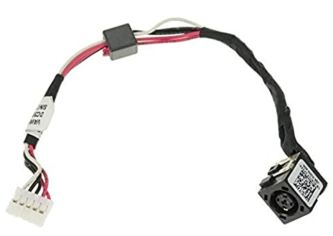 New AC DC Power Jack Port Socket Cable Harness For Dell Inspiron 17 (5721 / 3721 / 3737 / 5737) DP/N:1K31Y, 01K31Y