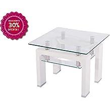 Mesa de rincon blanca