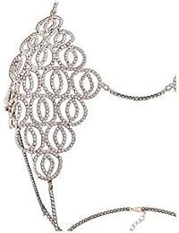 SLB Works Women's Sexy Body Chain Cover Up Bra Body Jewelry Bikini Bra Gold P6T3 O8W0
