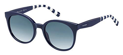 Tommy hilfiger th 1482/s 08 pjp 52 occhiali da sole, blu dk bluee sf, donna