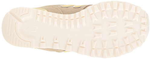 New Balance Damen Wl574 Sneakers Gelb (Sand)