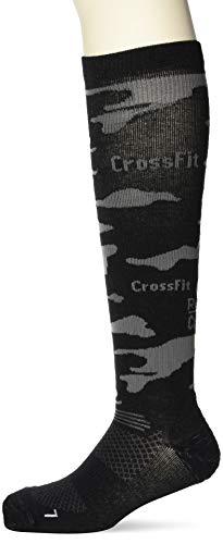 Reebok Crossfit Unisex Socken Compression Knee Sock 1p Black 40-42 M