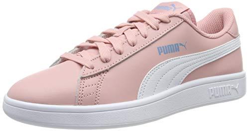 PUMA Basket Platform Glitz Jr, Scarpe da Ginnastica Basse