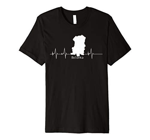 Bolonka T-Shirt Heartbeat Geschenk Hund Herzschlag