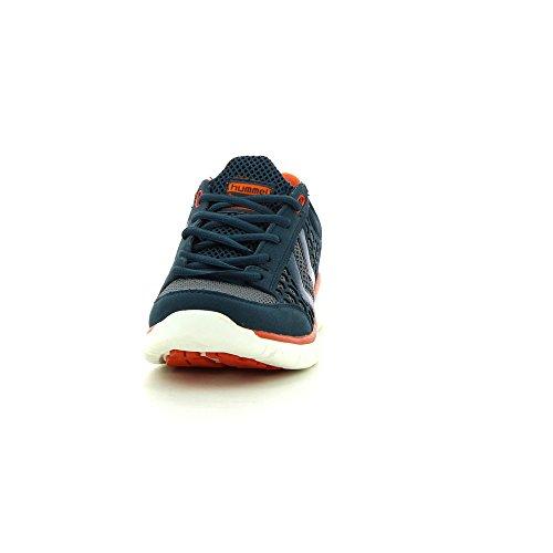 Hummel Crosslite, Chaussons Sneaker Adulte Mixte Bleu