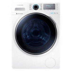 Samsung - Lavadora de carga frontal Ecobubble WW90H7610EW/EC de 9 Kg y 1.600 rpm