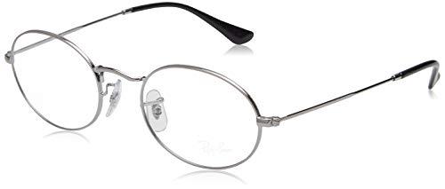 Ray-Ban Unisex-Erwachsene 0rx 3547v 2502 51 Brillengestelle, Mehrfarbig (Gunmetal)