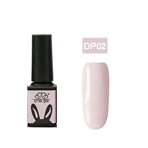 Kalorywee LED Soak Off Gel UV Vernis à ongles Rose Couleurs Original Vernis à ongles, Aphrodite Rose de nuisette Rose et rose Nuances