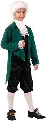 Forum Novelties Deluxe Kostüm Thomas Jefferson, Small
