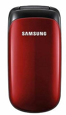 Samsung E1150 Handy (extralange Akkulaufzeit) ruby-red (Handy Akkulaufzeit)