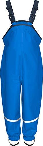 Playshoes Jungen Regenlatzhose, Matschhose Regenhose,, per pack Blau (blau 7), 116 (Herstellergröße: 116)