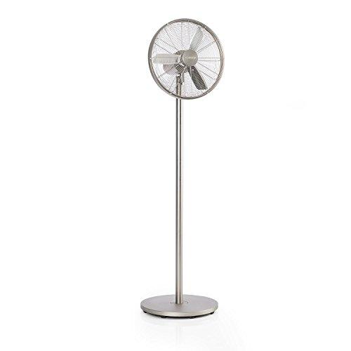 Klarstein Ethos, ventilatore a piantana metallico da 40 cm e 60 watt