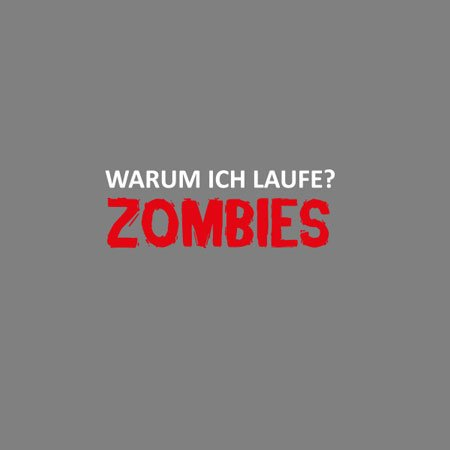 TEXLAB - Zombie Fitness - Herren T-Shirt Weiß