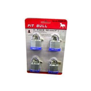 AJ Tools CHIPL31 1 inch (30 mm) x 4 Piece Laminated Lock