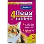 Johnsons Vet 4fleas Tablets for Cats...