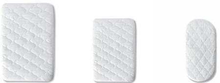 Pirulos 41100001 - Protector colchón, algodón, 50 x 80 cm, color blanco
