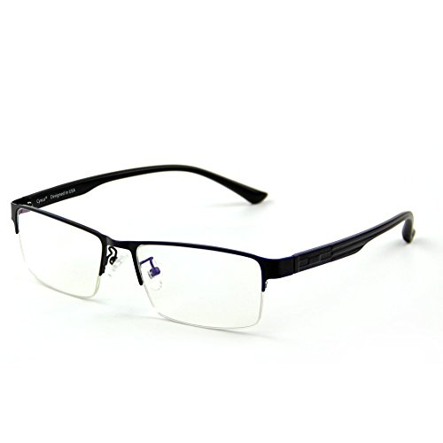 Cyxus filtro luz azul gafas media montura [transparente