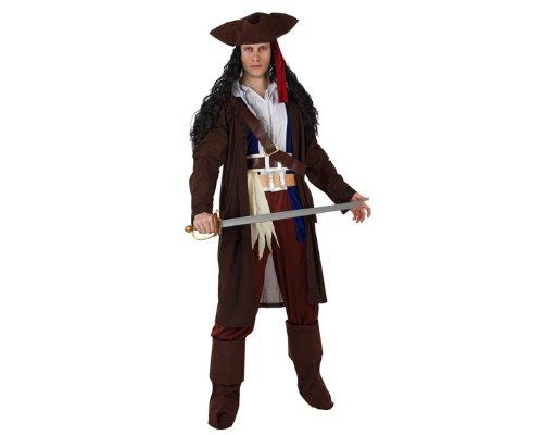 Imagen de atosa  disfraz de pirata para hombre, talla 50  52 96818