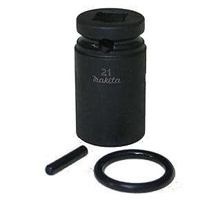 "31N%2BIWX6CeL. SS300  - MAKITA 134833-2 - Llave de vaso de impacto m14x52 insercion 1/2"" interior 21 mm exterior 28 mm"