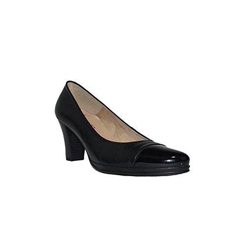 CHAMBY CHAMBY TACÓN Grueso Zapatos Tacón Piel Mujer