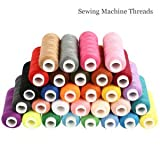 #5: 30 Different Colours 250 Yard Polyester Embroidery Sewing Machine Threads
