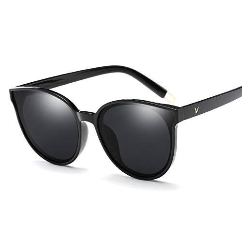 YUHANGH Polarisierte Linse Sonnenbrille Frauen Luxus Brillen Weibliche Sonnenbrille Großen Rahmen Cat Eye Sonnenbrille Elegant