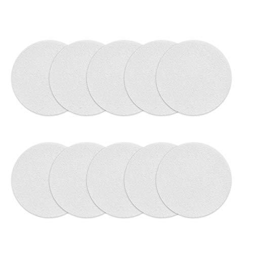 Incutex 10x Anti Rutsch Sticker Punkte für Badewanne und Dusche 10 cm Durchmesser, selbstklebend, transparent, rund