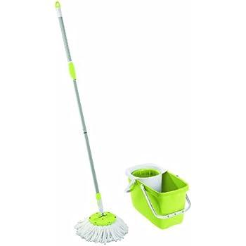 Leifheit 52048 Balai Lave-Sol Set Clean Twist Mop Fresh Lime