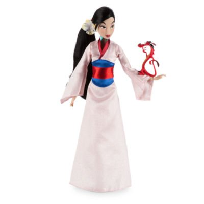 Mulan Kostüm Haar - Mulan Classic Puppe Langes, realistisches Haar
