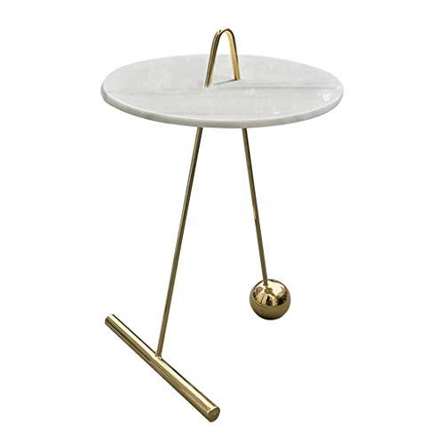 Tables basses Tables Table Ronde Salon en Métal Coin De Mode Table Créative Table D'appoint Moderne Canapé Simple Table De Téléphone Table De Boisson Talk Zhuo Table De