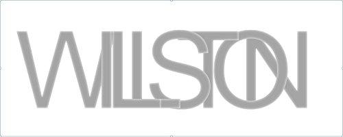 WILLSTON - schwarzes Papier - 25 Blatt DIN A4 200g/m² schwarz - komplett durchgefärbt