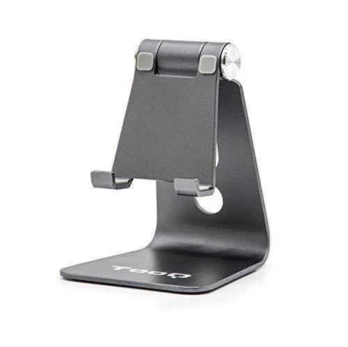 supporto tablet tavolo TooQ ph0001-g-Supporto da tavolo per inclinazione regolabile per Smartphone/iPhone/iPad/Tablet