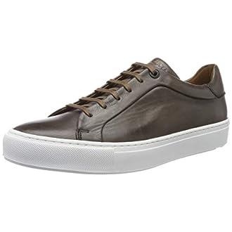 LLOYD Ajan, Sneakers Basses Homme, Gris (Lava 1), 44 EU