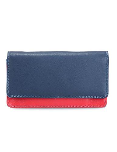 Mywalit - leder damen Geldbörse - Medium matinee purse wallet - 237-127 - royal -