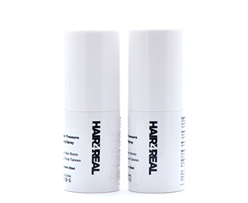 Hair4Real Combo of Hair Locking Spray 60ml suitable for all Hair Fibers like Rebuilds, Caboki, Looks21, etc (Pack of 2x30ml)
